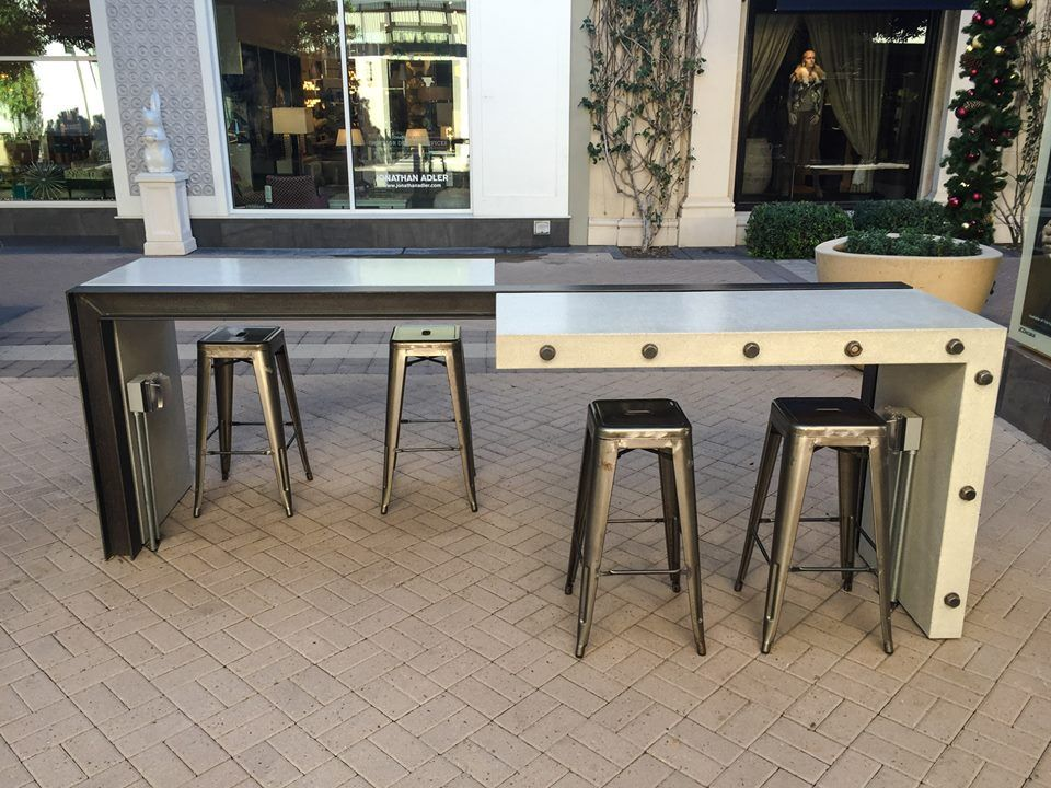 we have a concrete bar table on sale if you need one vintage rh pinterest com
