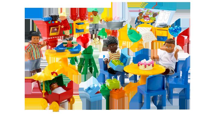 LEGO.com Education Products - News - 9215 - Dolls Family Set ...