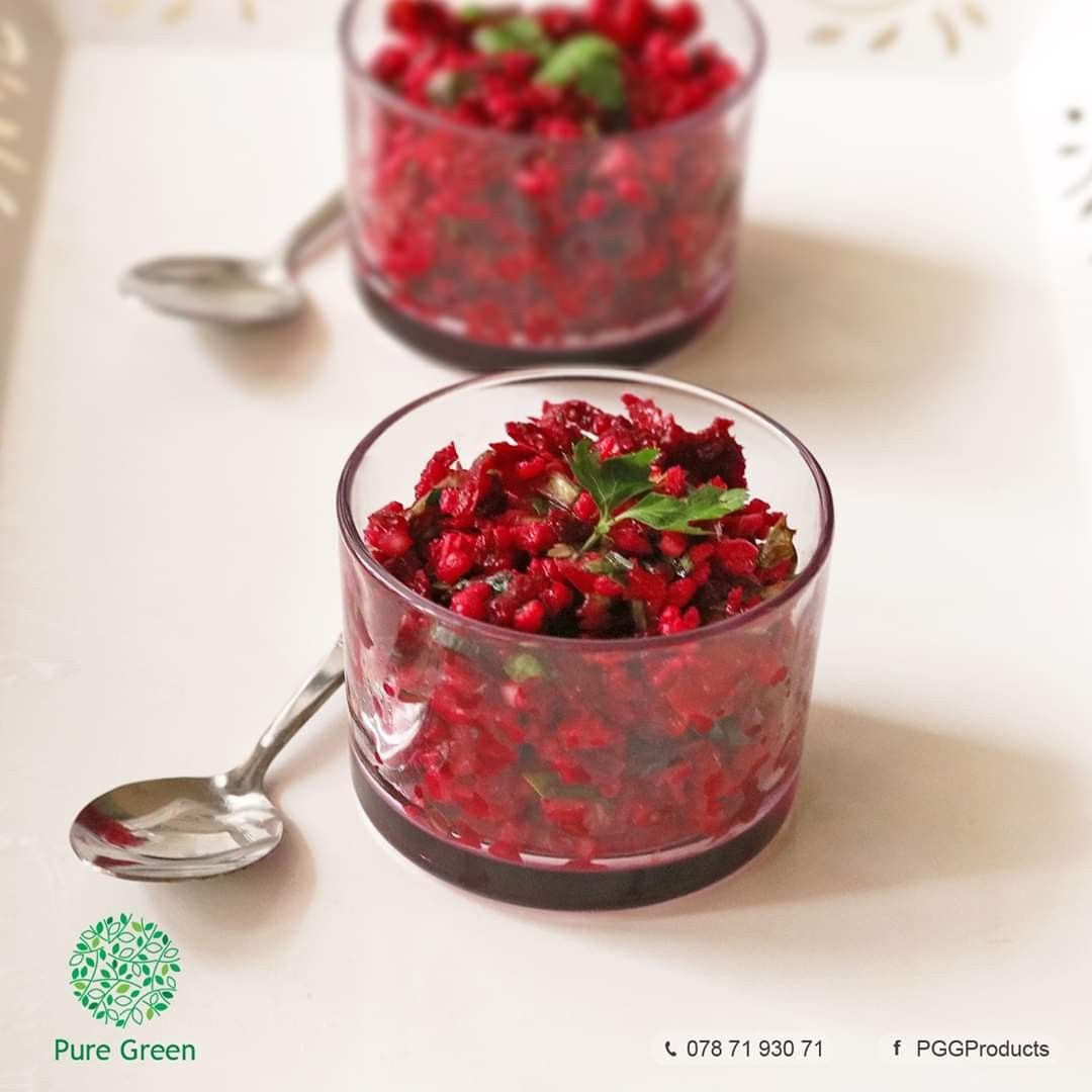 تبوله شمندر Beetroot Tabouleh Red Peppercorn Food Peppercorn