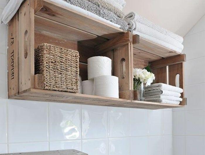 ▷1001+ idées et tutos pour fabriquer un meuble en cagette charmant ...