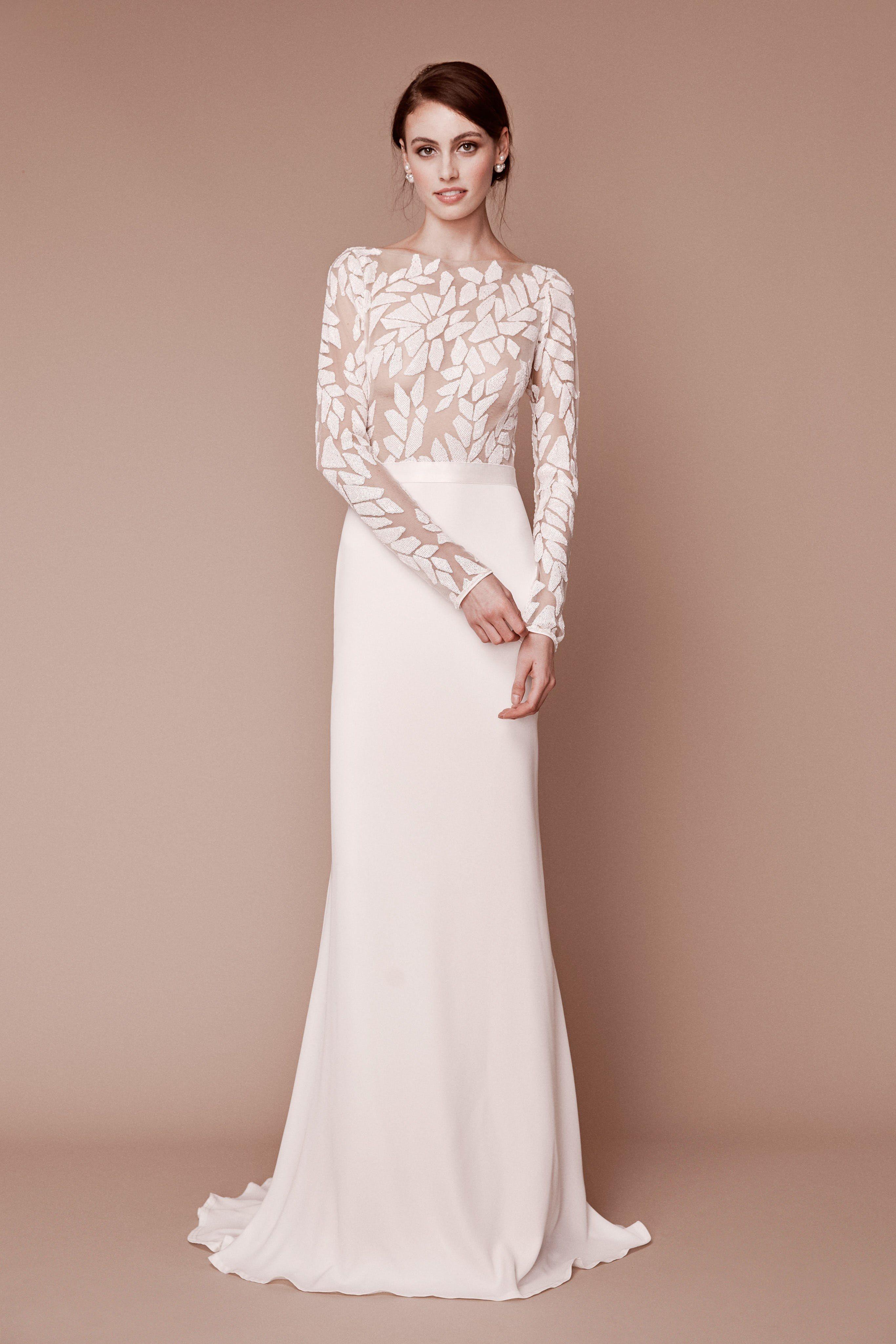 9887e17c268 Tadashi Shoji Bridal Fall 2019 Fashion Show in 2019