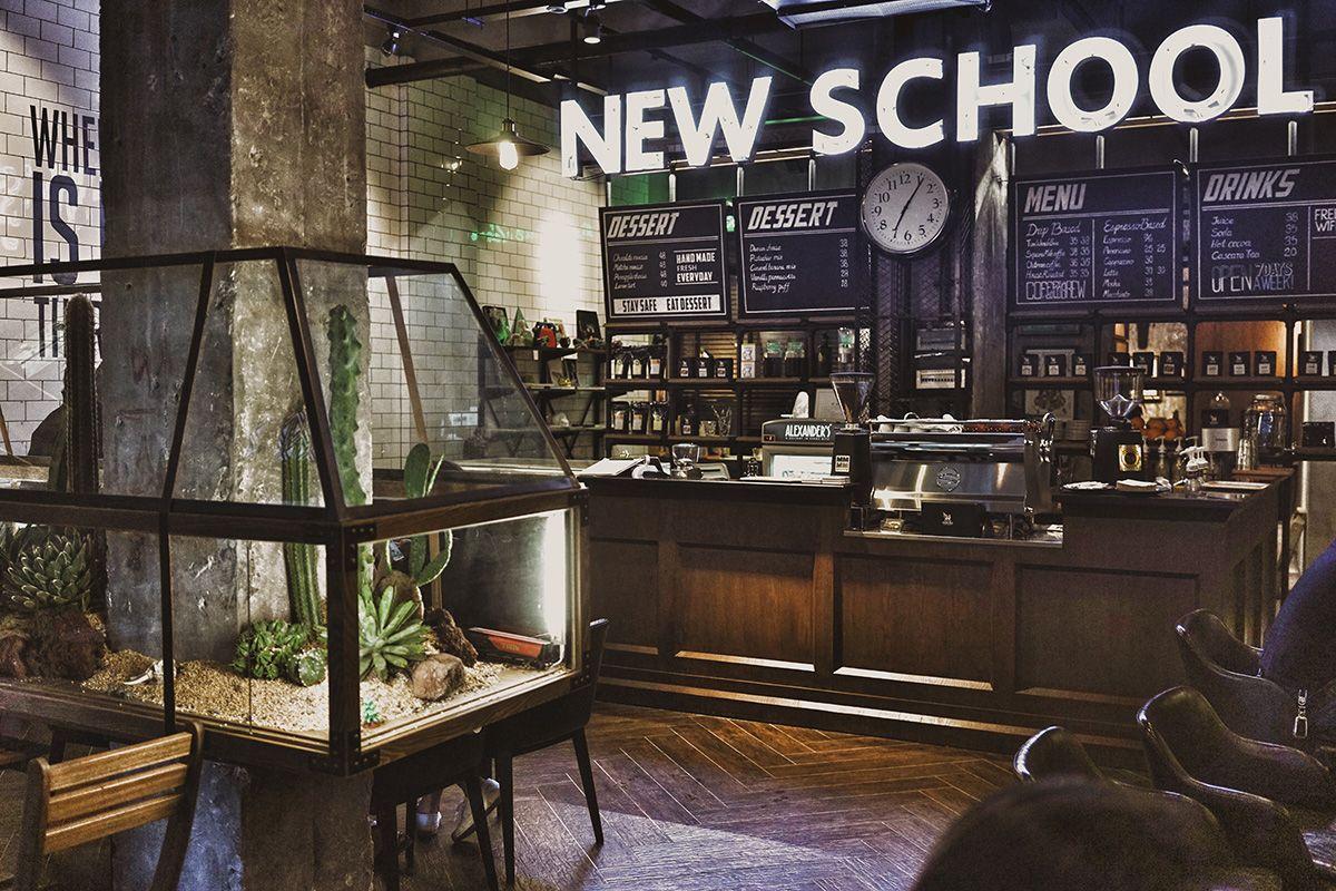 interior design love chengdu china s new school coffee and tattoo rh pinterest com