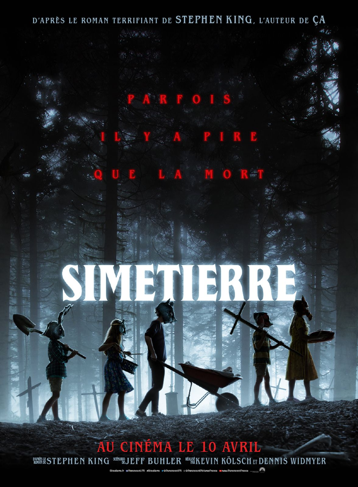 Simetierre film 2019 AlloCiné Cimetière animaux