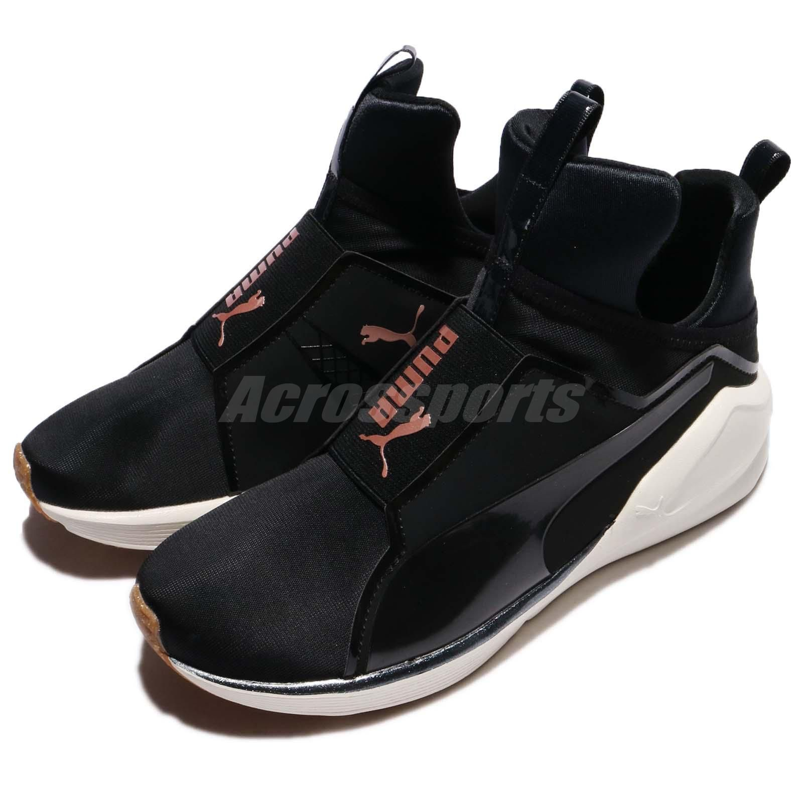 9d4f5866c95 Puma Fierce VR Wns Black Whisper White Women Training Shoes Trainers  19034701