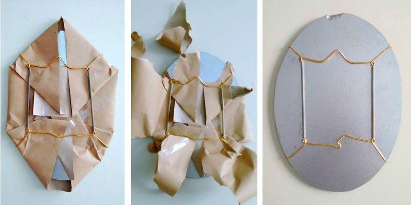Montar un espejo sin marco para la pared | limpieza | Pinterest ...