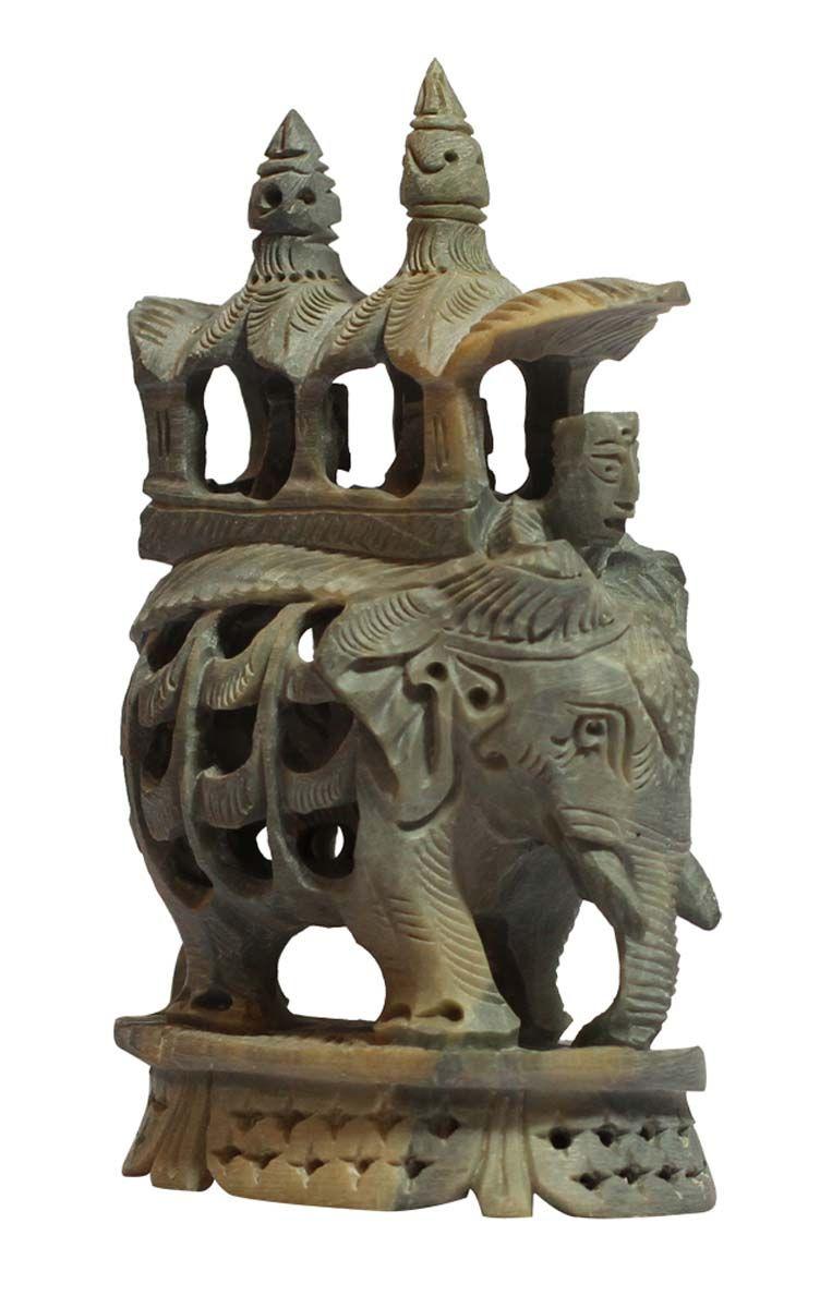 Bulk Wholesale u0027Elephant with Palanquinu0027 Sculpture u2013