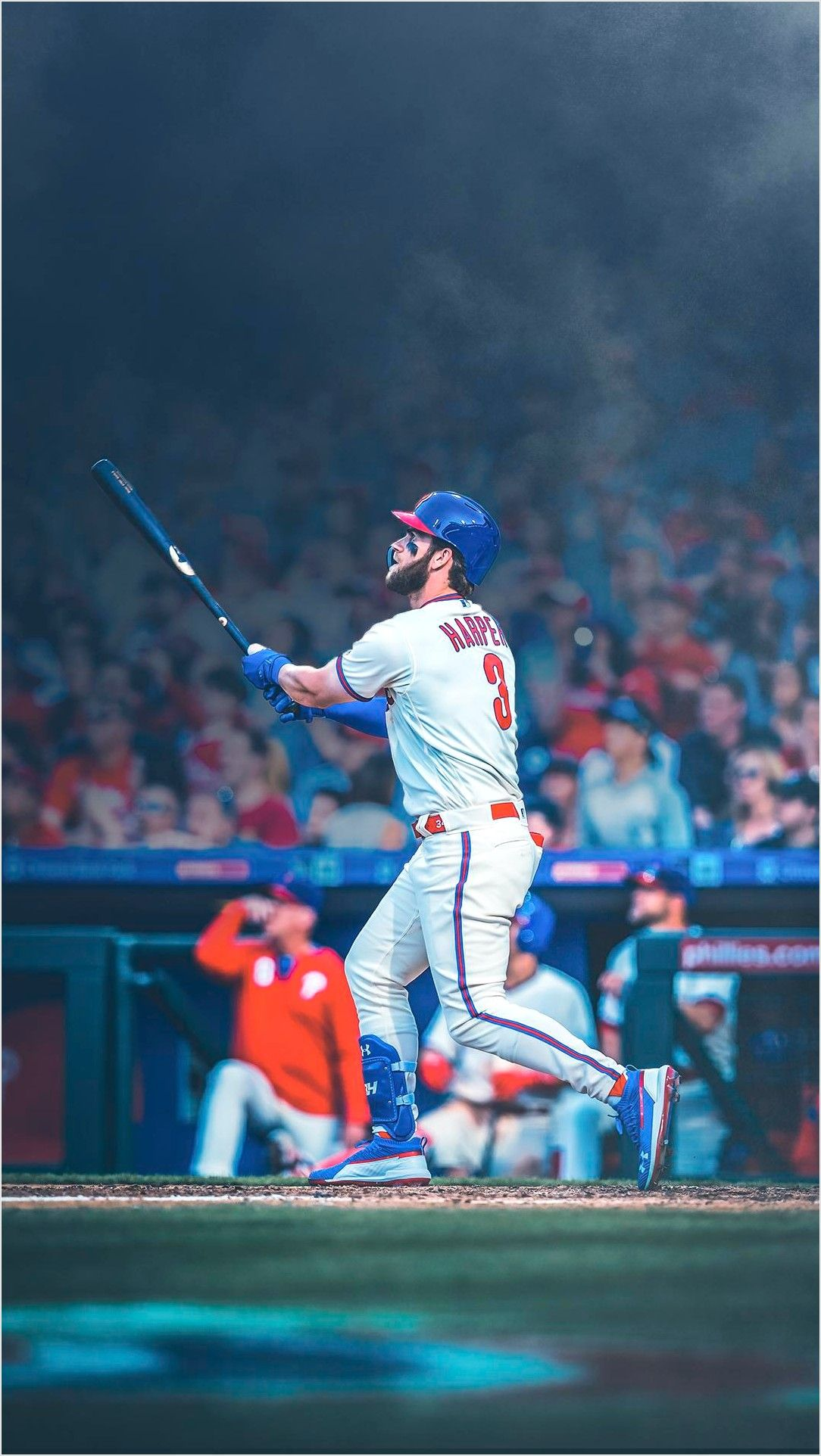 Cool Bryce Harper Wallpaper Phillies Baseball Wallpaper Baseball Game Outfits Mlb Wallpaper