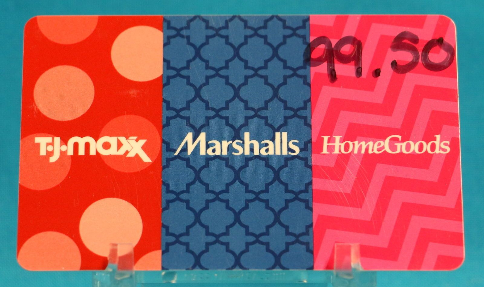 Coupons giftcards tj maxx 9950 merchandise credit