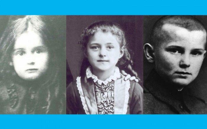 Holy cuteness! // Rare photos of saints as children