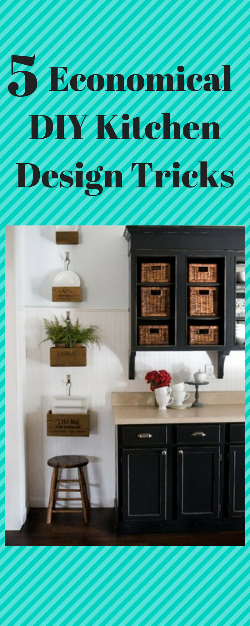 5 economical diy kitchen design tricks italian buffet and food rh pinterest com