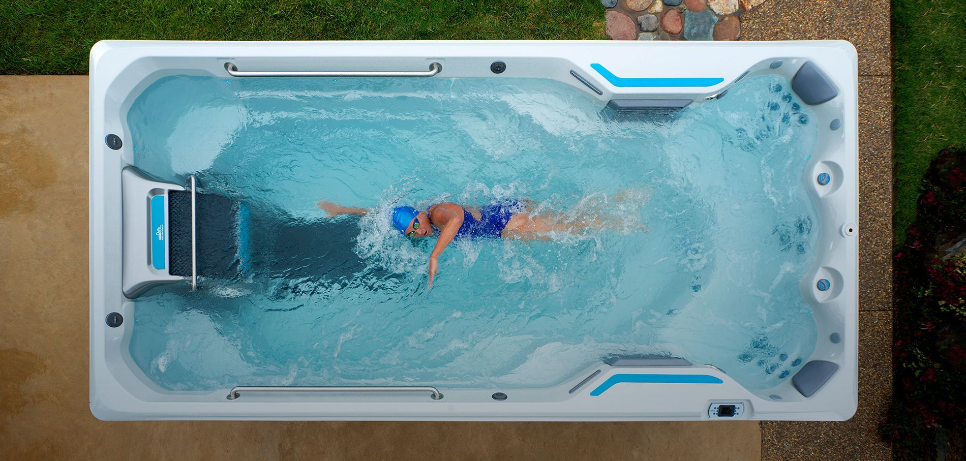 We Ll Install And Maintain Your Swim Spa For You You Won T Have To Worry About A Thing Visit Our Store In Fri Endless Pool Cool Swimming Pools Swimming Pools
