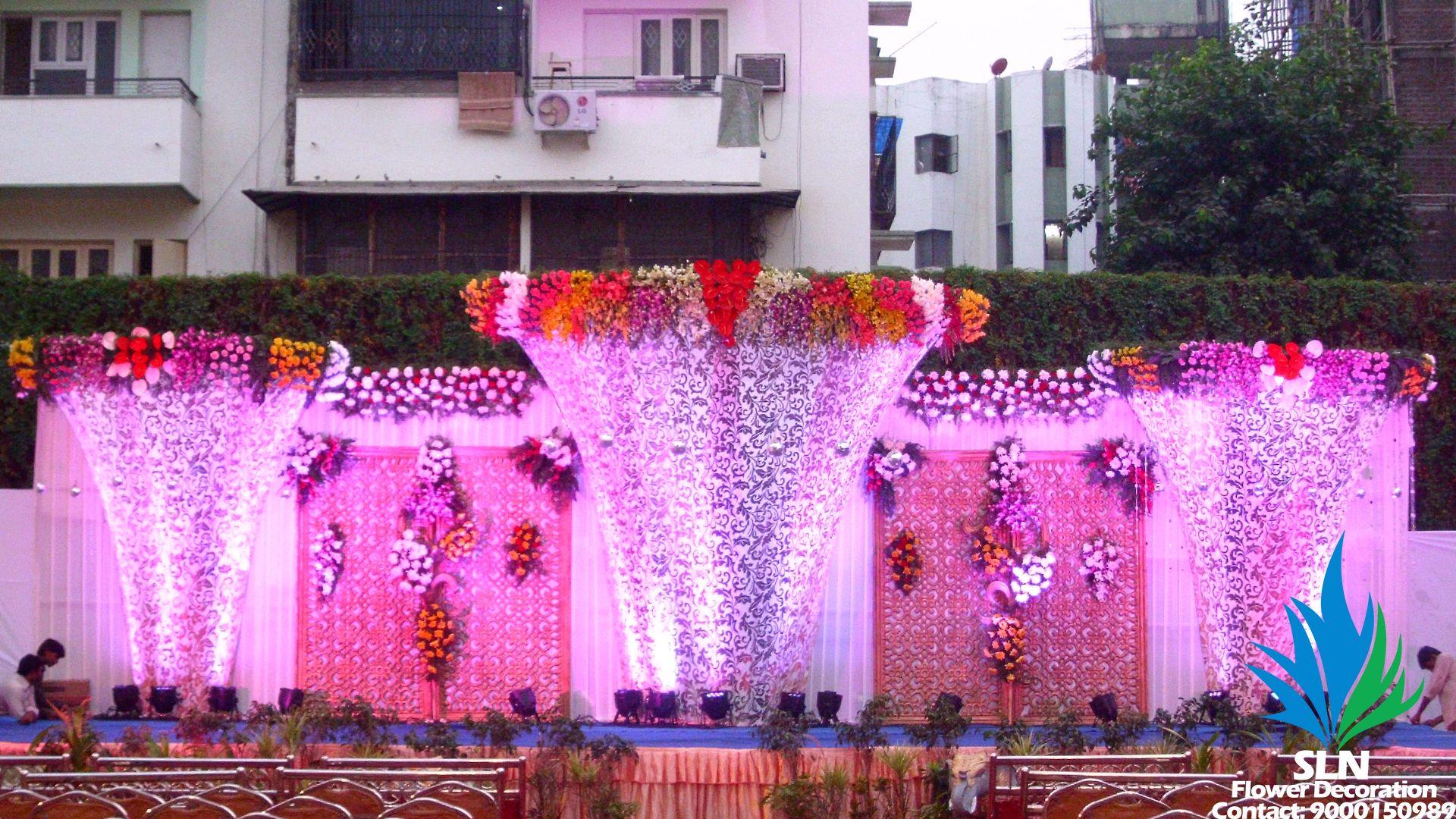 Stage Decorations Receptions Staging Role Play Wedding