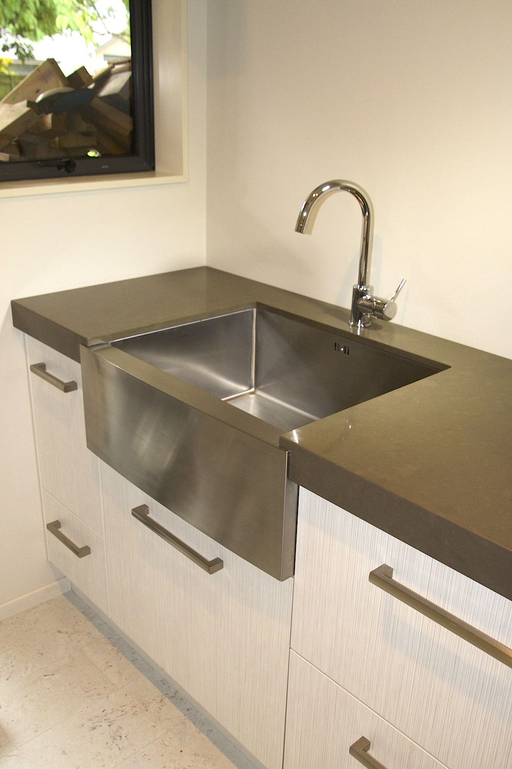 Ikon Argon Butler Sink Stainless Steel
