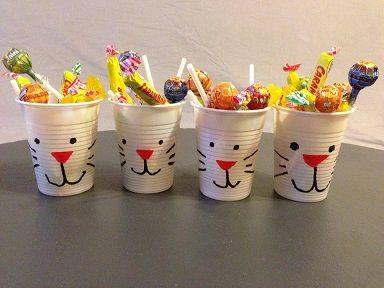 Top décorer des gobelets en lapins pour Pâques . #sac #bonbon #paques  AN26