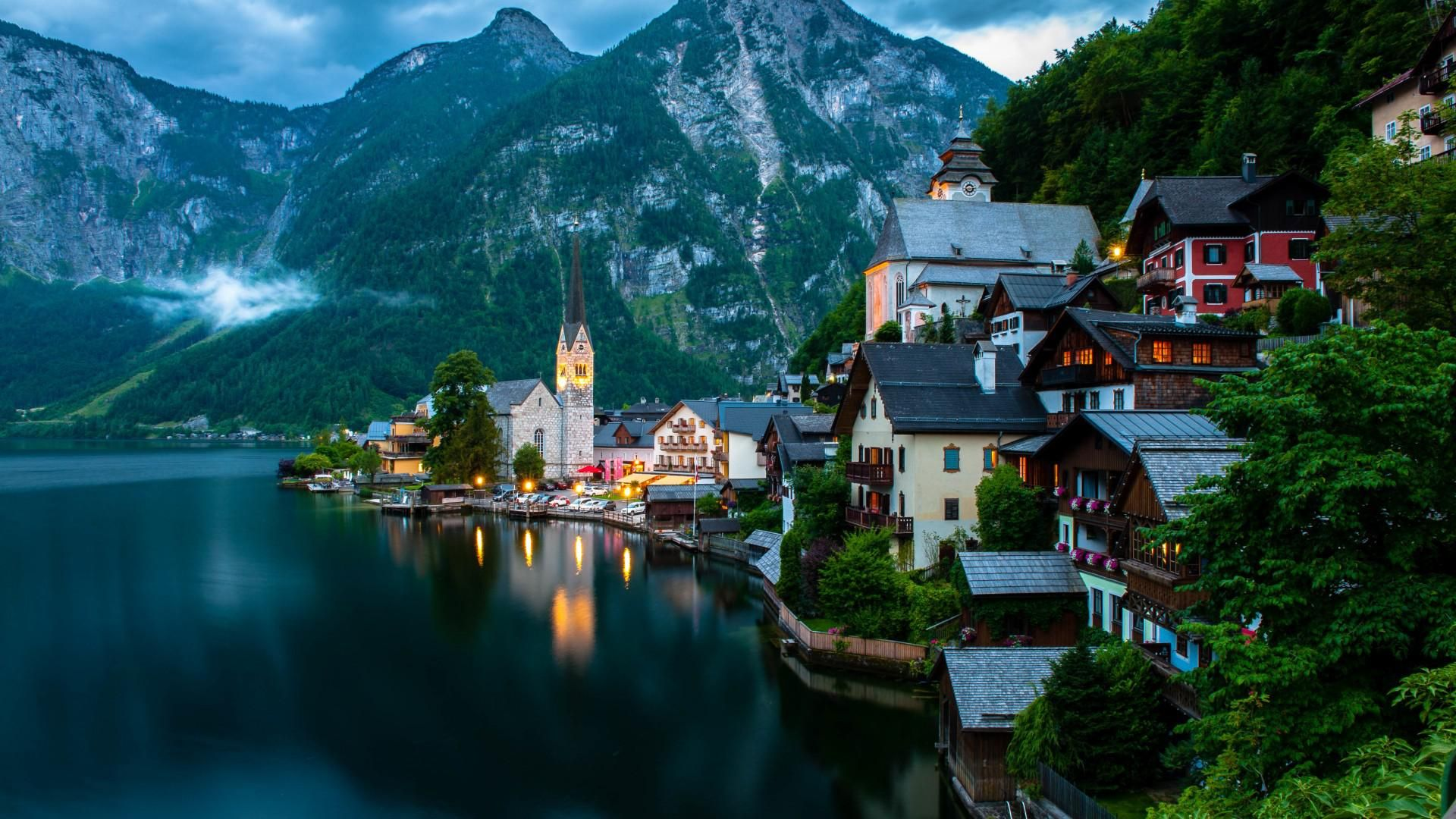 Hallstatt One Of The Most Beautiful Villages In Austria Travel Pinterest Most Beautiful