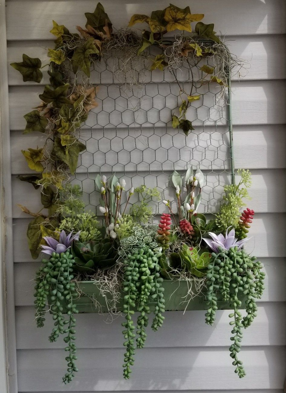 container picked up in florida flea market moss from charleston sc rh pinterest com