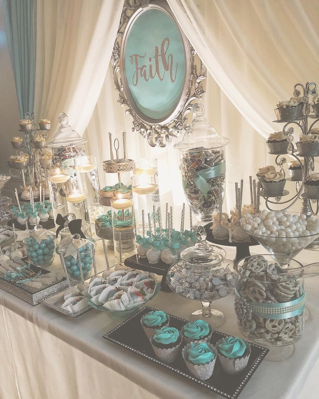 Sweet 16 #birthday #birthdaygirl #sweet16 #candybuffet #candytable #desserttable #partydecorator #sweets #philawedding #treats… #sweet16birthdayparty