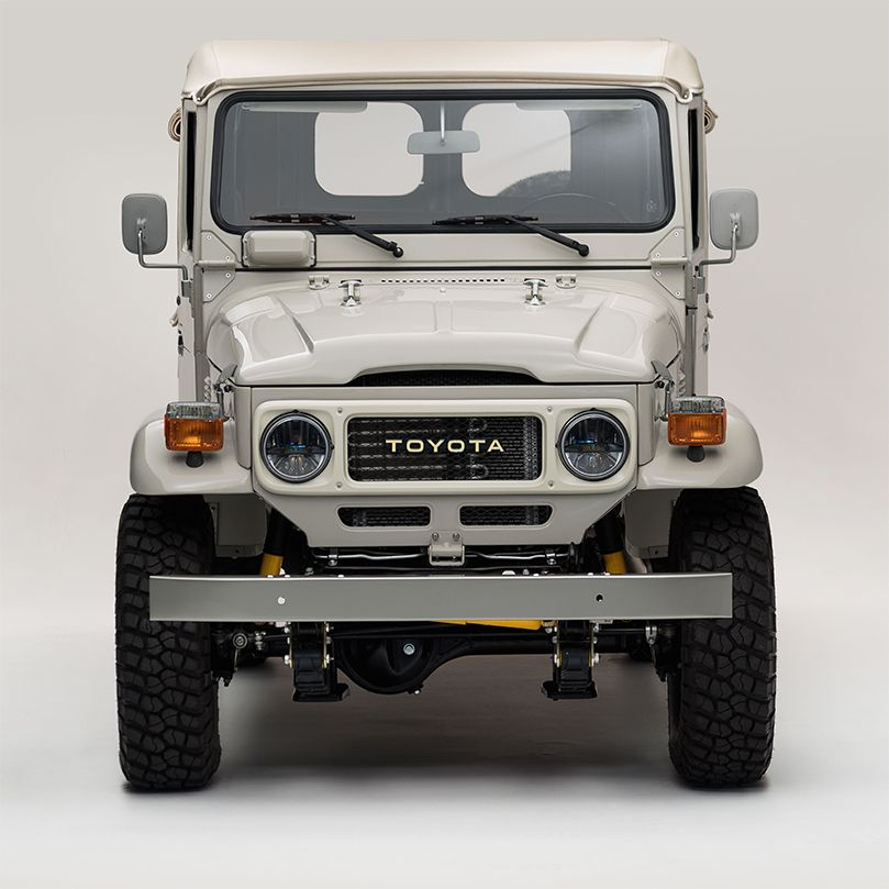 the original toyota land cruiser had a big brother and it looks rh pinterest com