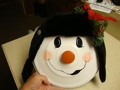 pot lid snowman #tidepodscontainercrafts