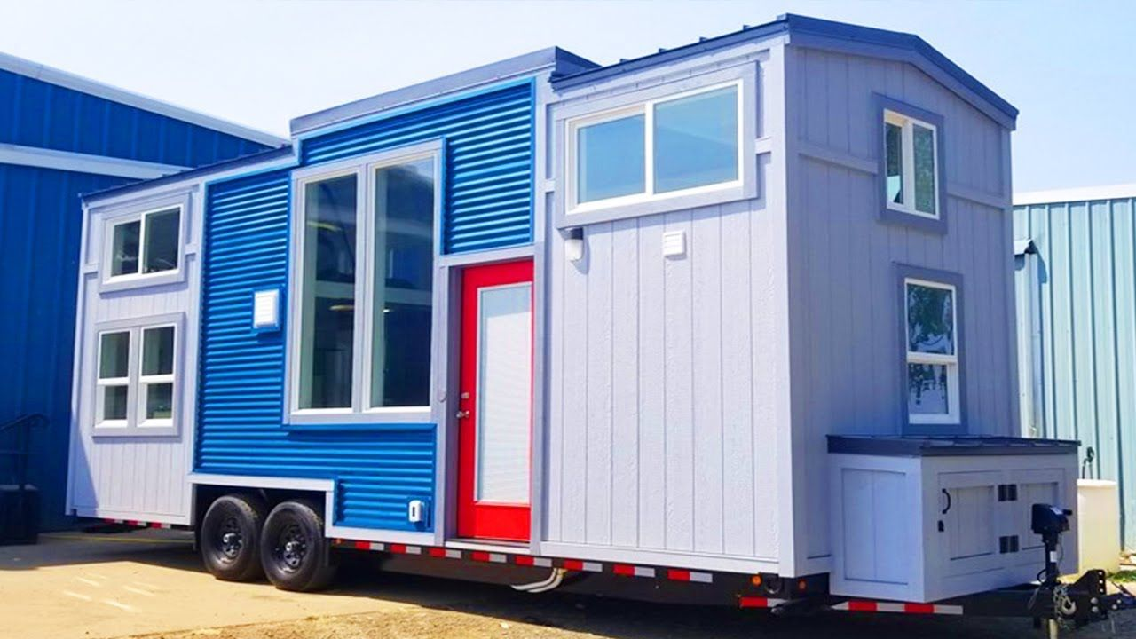 fabulous 26ft mt bachelor tiny house on wheels by tiny mountain rh pinterest com