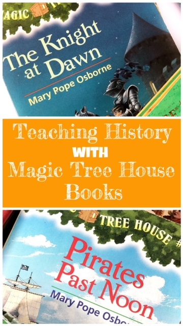 Photo of Teaching History with Magic Tree House Books – peanut butter fish lessons