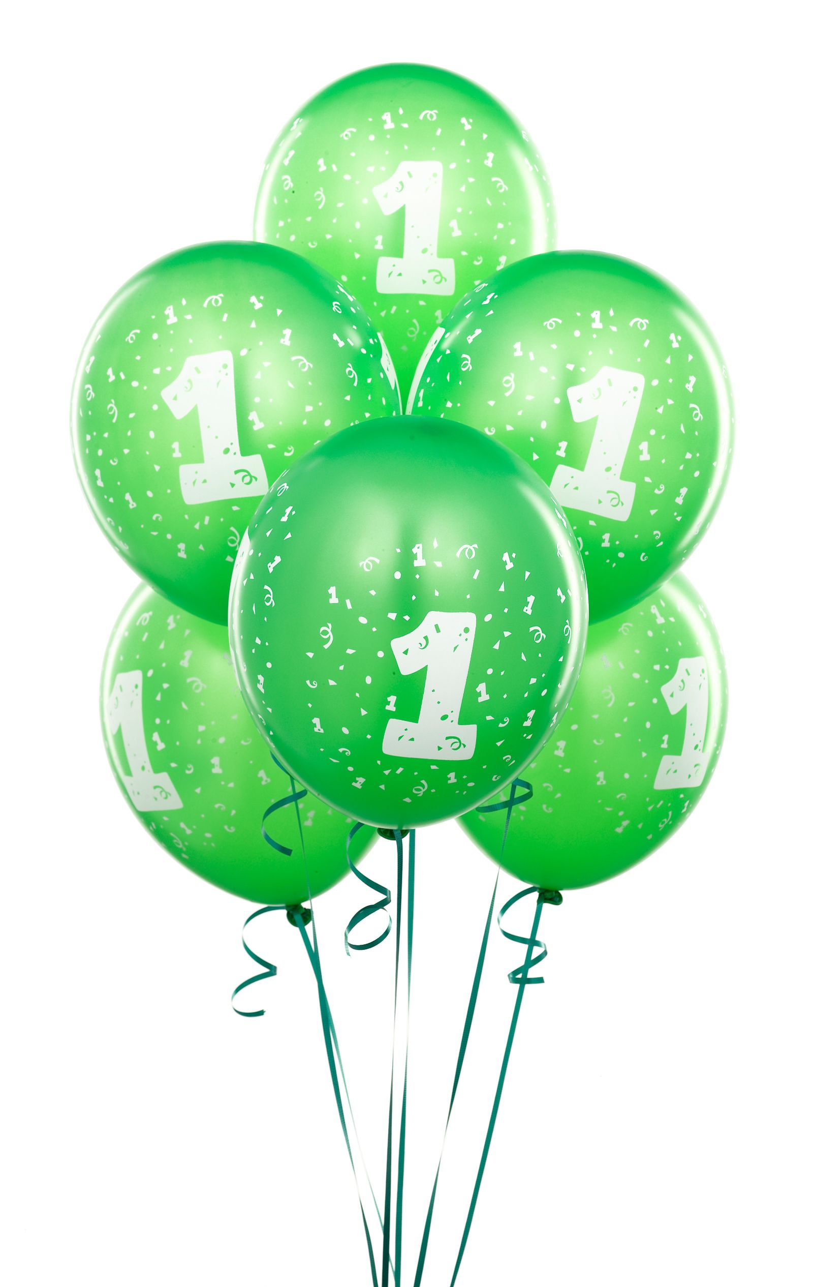 Green First Birthday Balloons 75th Parties Lion King