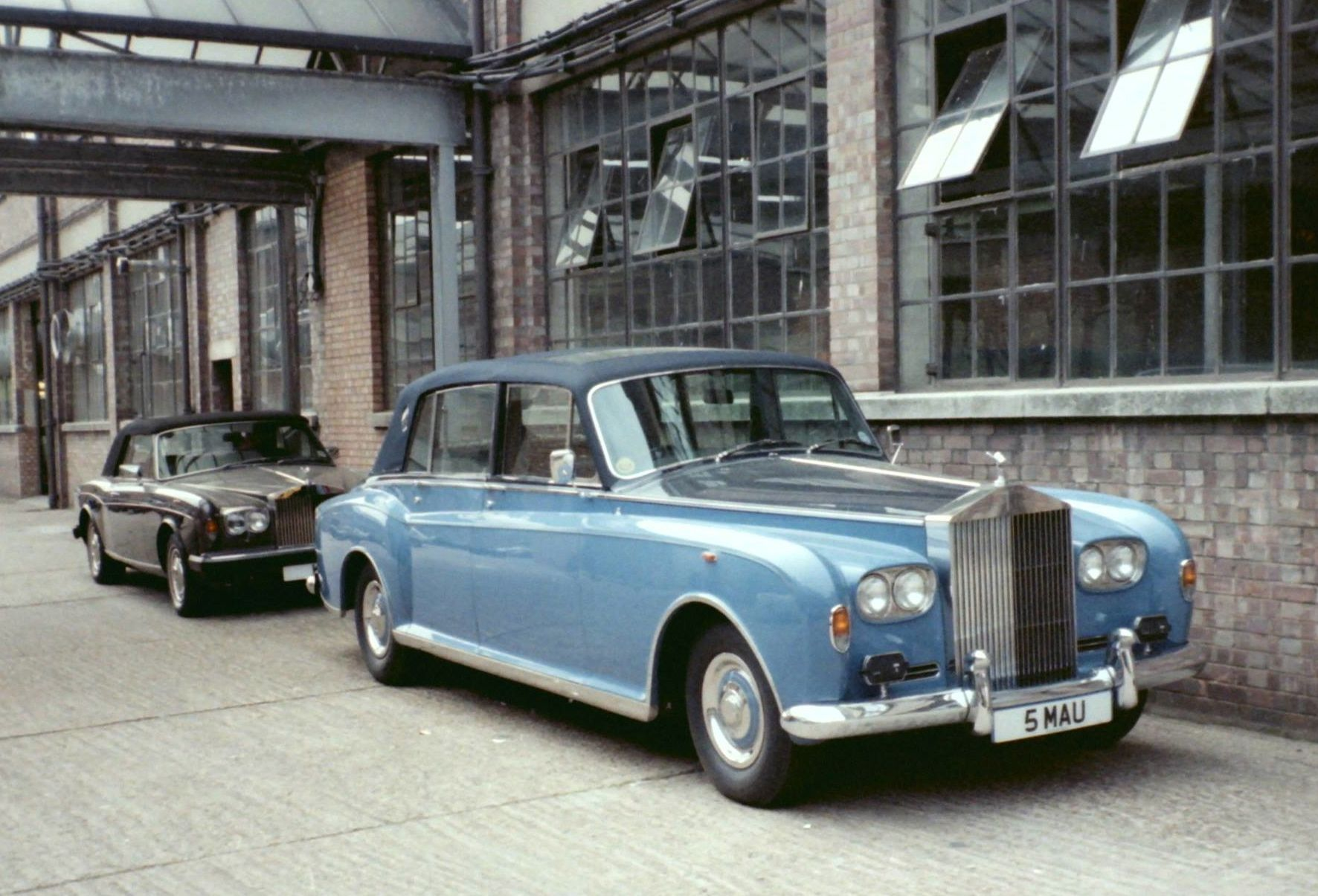 1984 Special Landaulette by Mulliner Park Ward (chassis PGH104)