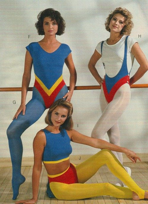 Leotard tights catalog (13) in 2019 | 80's workout wear ...