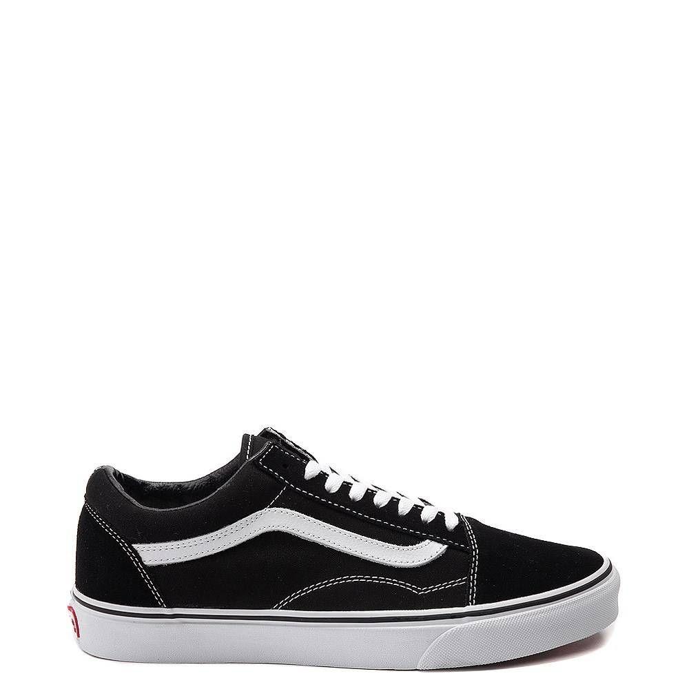 Vans Old Skool Skate Shoe Black | Vans old skool, Skate