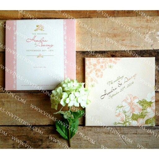 wedding custom invitation blossom flower wedding invitations by rh pinterest co uk