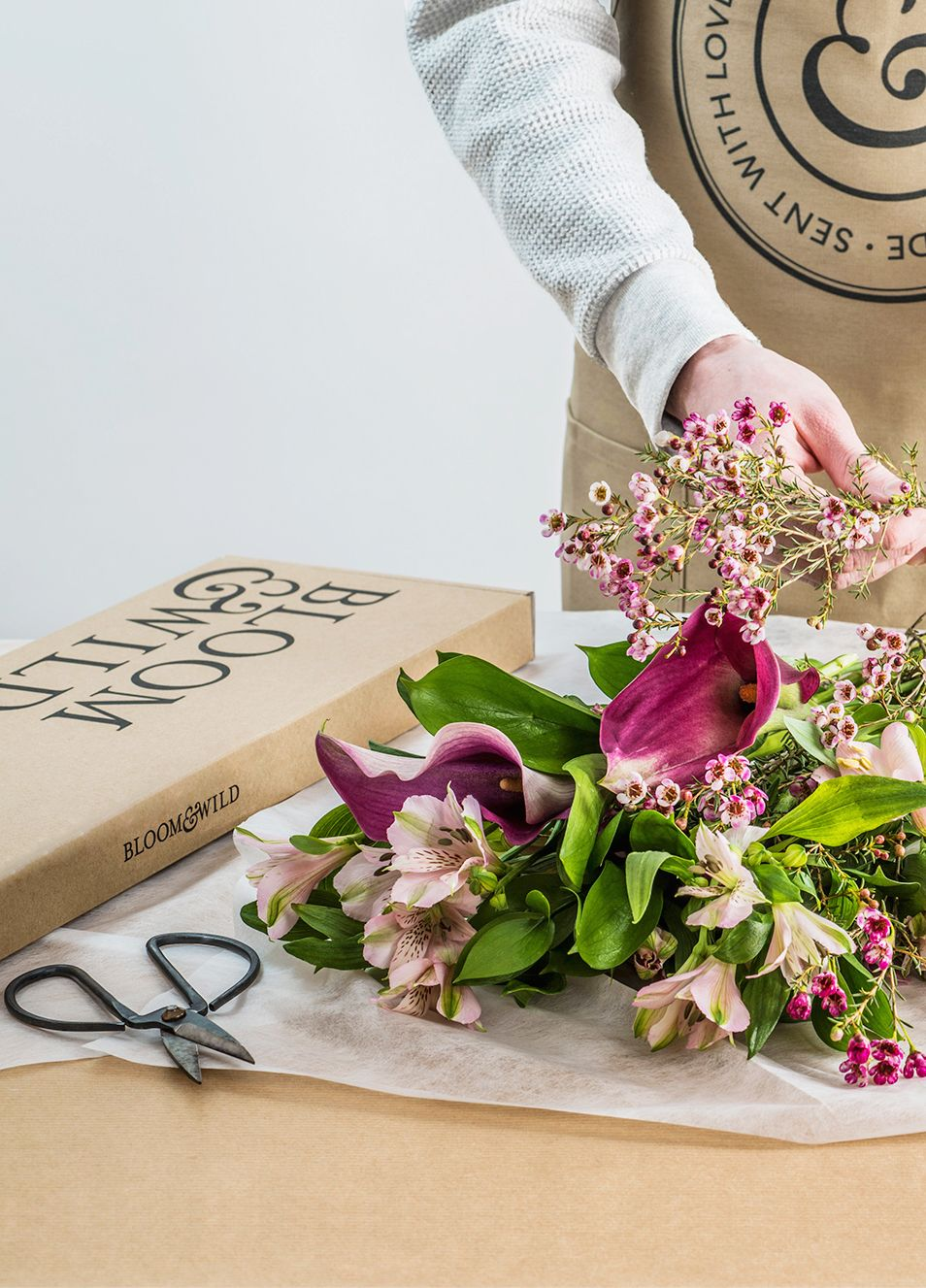 This Spring We Re Inspired By Classic Yet Wild English Gardens Filled With Stocks Lilies Wax Flowe Bloom And Wild Spring Flower Arrangements Flower Delivery