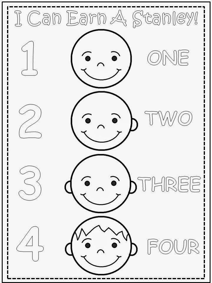 Free Stanley Make A Face Rubric (based on the character by