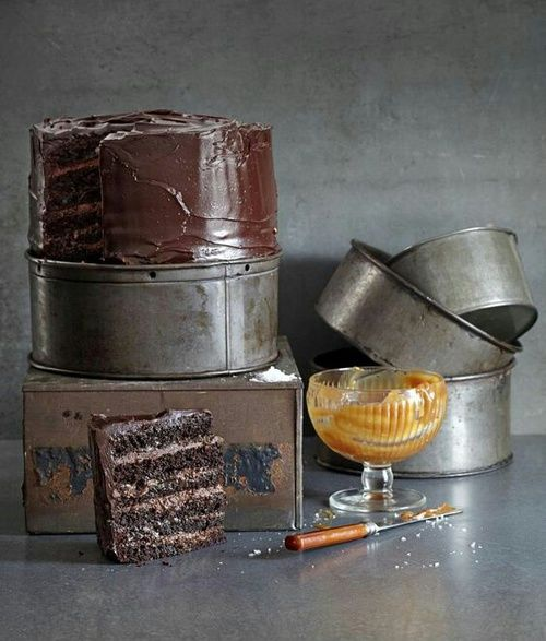 Chocolate and caramel #caramel #chocolate #cake #cocoa #chocolate #yummy #share