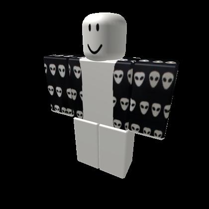 2dd050da2db Black Alien Jacket - ROBLOX | Roblox | Black, Jackets, Create an avatar