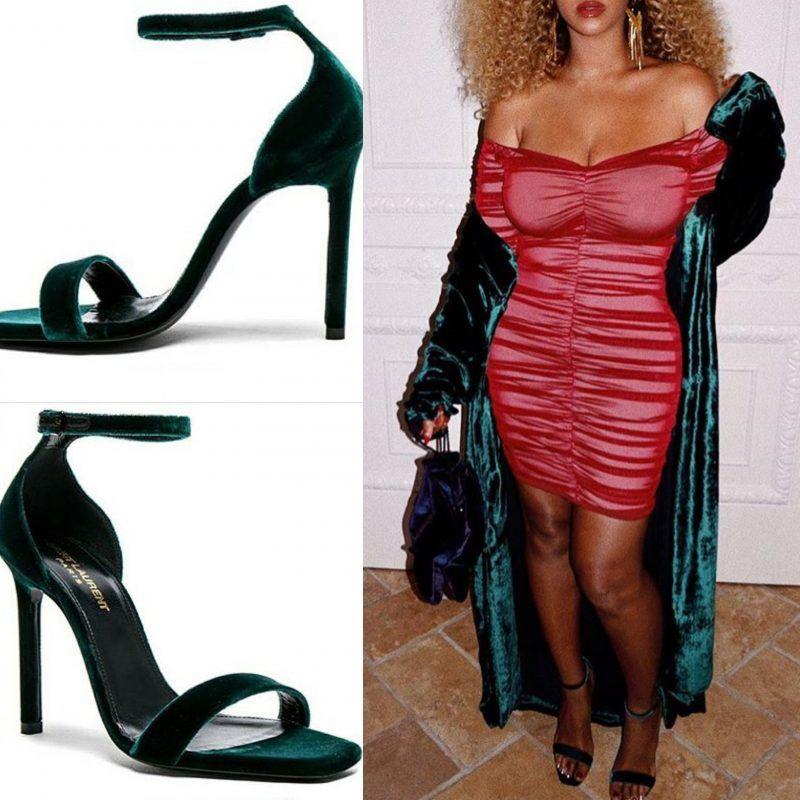 2016 Hot Sale Kg By Kurt Geiger Harem Vamp Strap Heel Sandals Women Black Suede AJPFS53