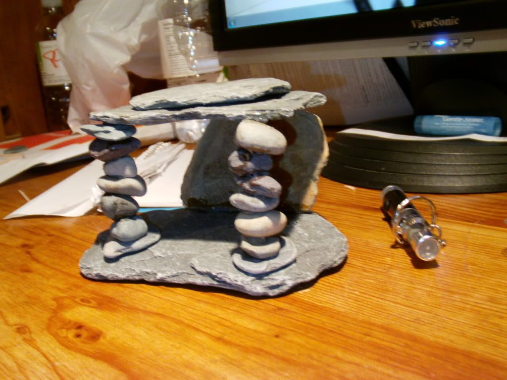homemade fish tank decorations its for my comet goldfish they are small an - Fish Tank Designs My Home
