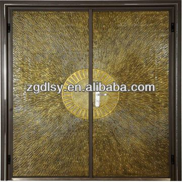 1metal double doors exterior 2villa door 3aluminum casting door