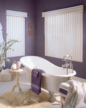 Purple Bathroom Design Ideas, Pictures, Remodel, And Decor   Page 5 · Bathroom  Window TreatmentsCustom ...