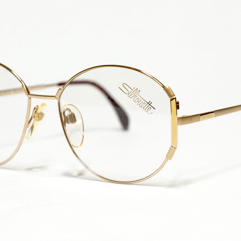 a3b6571caca9 Round Vintage Silhouette glasses Frame
