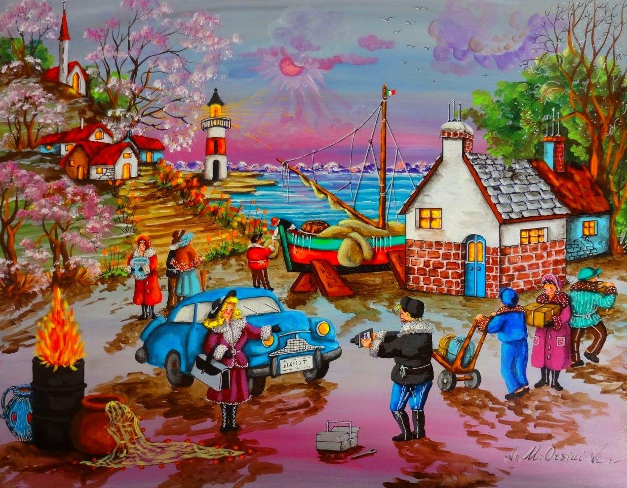 Nace en napoles es hija del arte su padre fue un reputado pastelista que dibujaba - Pintura instinto ...