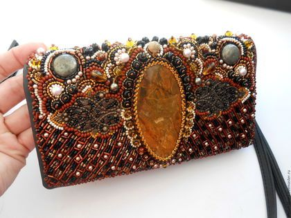894385bfce09 Женские сумки ручной работы. Ярмарка Мастеров - ручная работа. Купить Клатч.  Handmade.