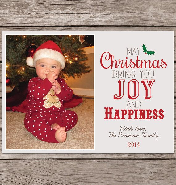 Personalized Christmas Cards.Christmas Card With Photo Photo Christmas Card