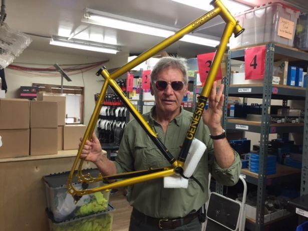 Harrison Ford gets his new Croix de Fer!