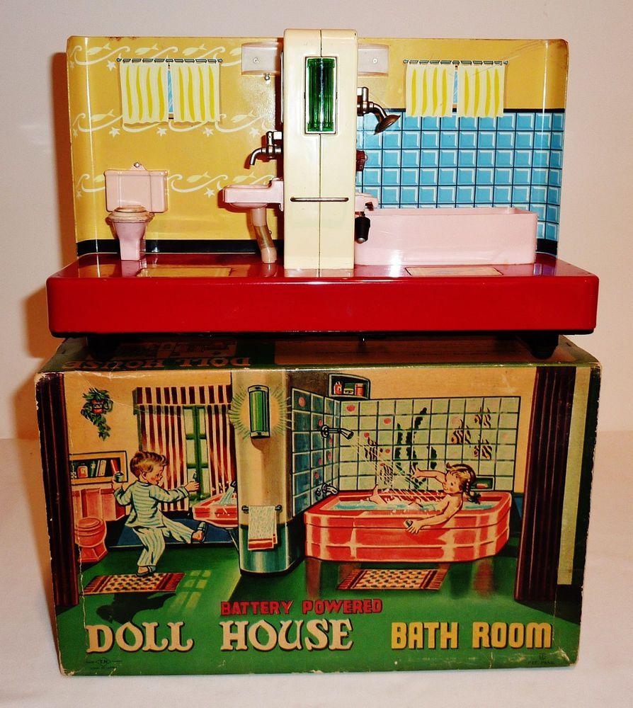 Bathroom Dollhouse Furniture u0026 Items eBay
