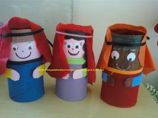 Toilet Roll Characters