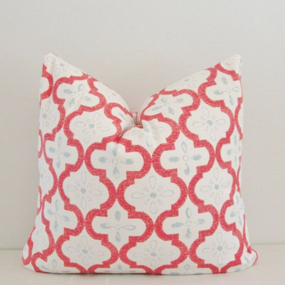Hey, I found this really awesome Etsy listing at https://www.etsy.com/listing/244302235/coral-moroccan-decorative-pillow-cover