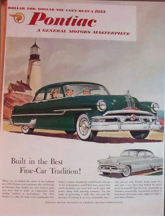 vintage ad built in the best finecar tradition by 9milesofwonder rh pinterest com