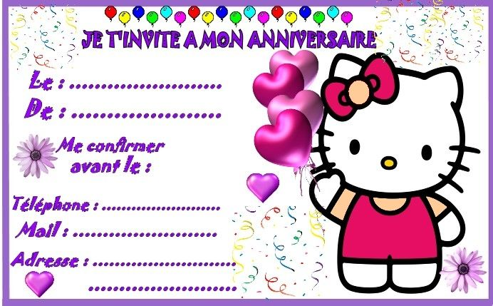 hello kitty invitation grand modelejpg 692429 - Hello Kitty Anniversaire
