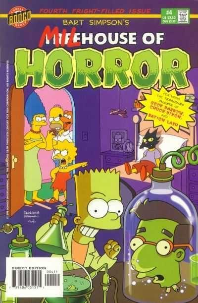 bart simpson s treehouse of horror 4 bart simpson s milhouse of rh pinterest com