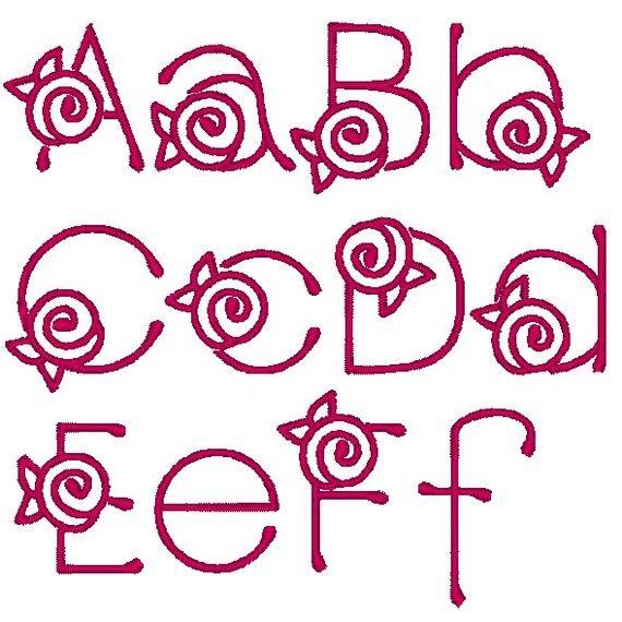 Rose font